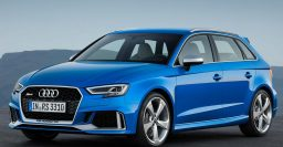 2017 Audi RS3 Sportback: Same 2.5L I5 as sedan, TT RS; not coming to USA