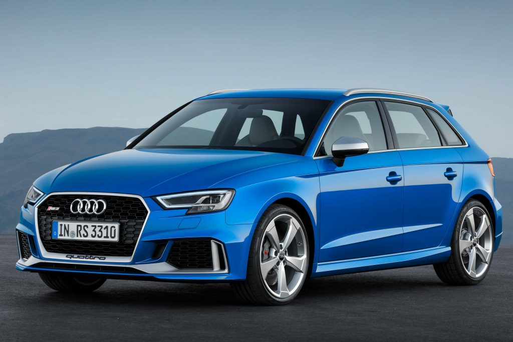 Audi rs3 sportback 2017 weight 17
