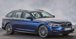 2017 BMW 5-Series Touring: G31 wagon not coming to America. Sad.