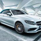 Mercedes-AMG C63 Ocean Blue (2017, A205, fourth generation) photos