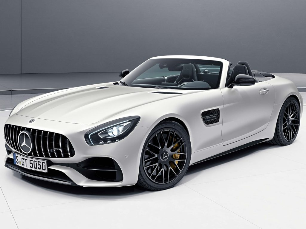 Mercedes-AMG GT C Edition 50 Roadster (2017, A190) photos ...
