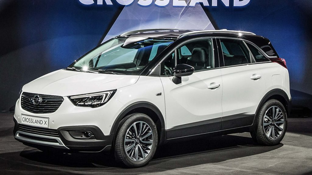 Opel Crossland X (2017, first generation, EU) photos ...