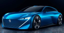 Peugeot Instinct: Sexy self-driving plug-in hybrid wagon concept