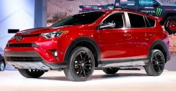 2018 Toyota RAV4 Adventure: Tough looks, more travel and off-road ability