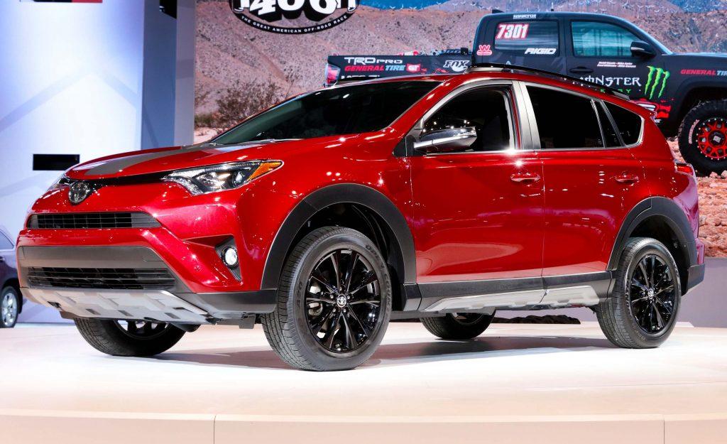Toyota Floor Mats >> Toyota RAV4 Adventure (2018 facelift, XA40, fourth generation) photos