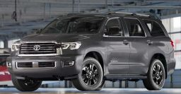 2018 Toyota Sequoia TRD Sport: Blacked out looks and Bilstein shocks