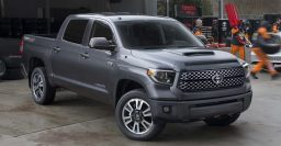 2018 Toyota Tundra TRD Sport launches facelifted pickup truck