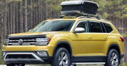 2019 Volkswagen Atlas dumps 2L turbo I4 for 3.6L V6 in all but one model