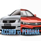 2016 Proton Perdana vs 2007-12 Honda Accord: Differences side-by-side