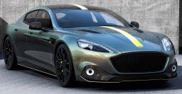 2017 Aston Martin Rapide AMR: Tough looks, more V12 power