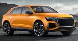 Audi Q8 Sport Concept: 2019 Q8 crossover coupe previewed again