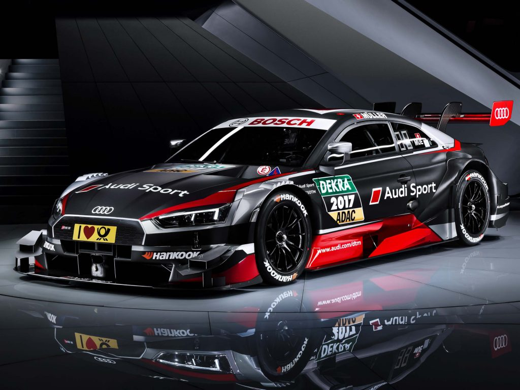 2017 Audi Rs5 Dtm Race Car New Year New Body Between