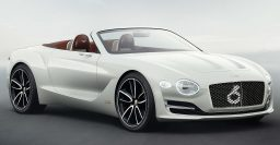 2019 Bentley Continental GTC previewed by EXP 12 Speed 6e concept