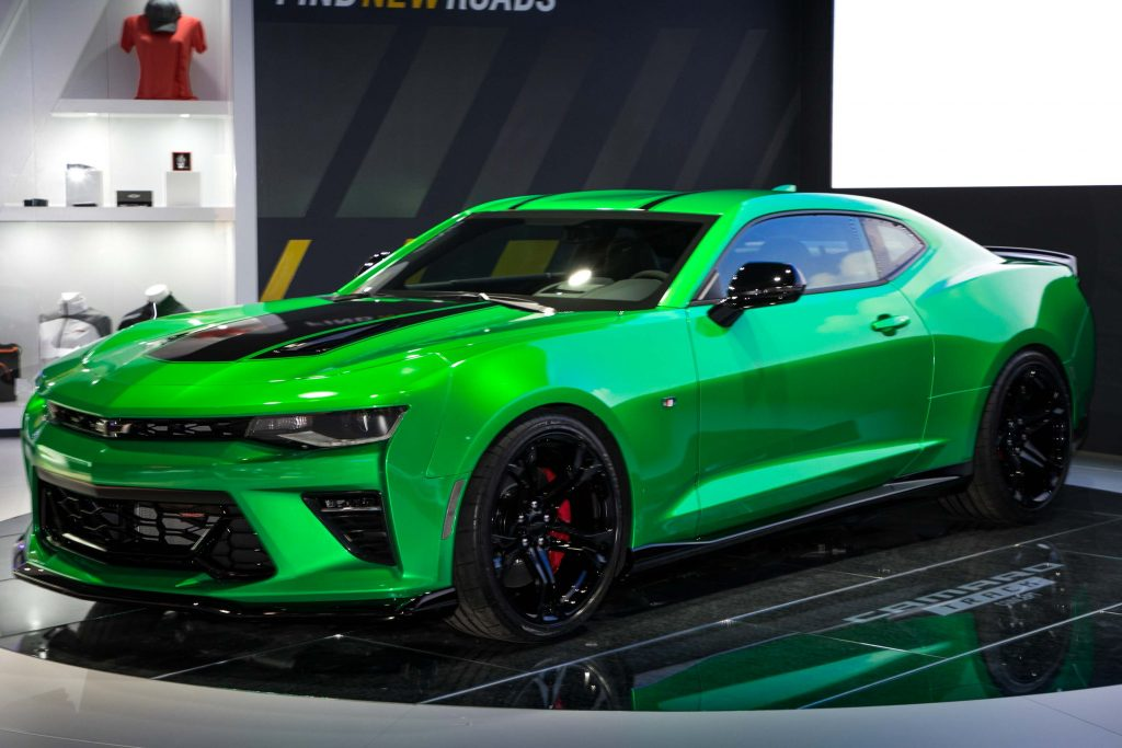 Chevrolet Camaro Track Concept (2017, sixth generation) photos