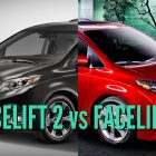 2018 Toyota Sienna vs 2015-17: Facelift differences in photo comparison