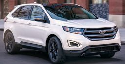 2018 Ford Edge SEL Sport Appearance Package: With cloth interior