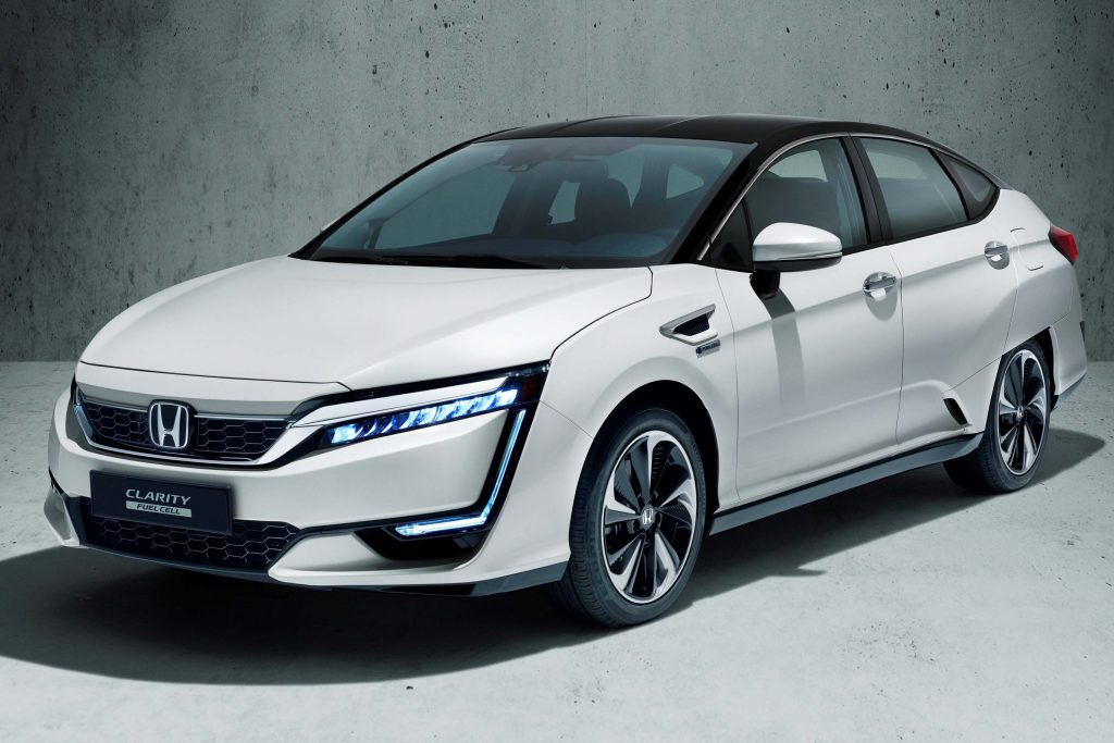 Model Hydrogen Fuel Cell Cars Honda Clarity Fuel Cel...