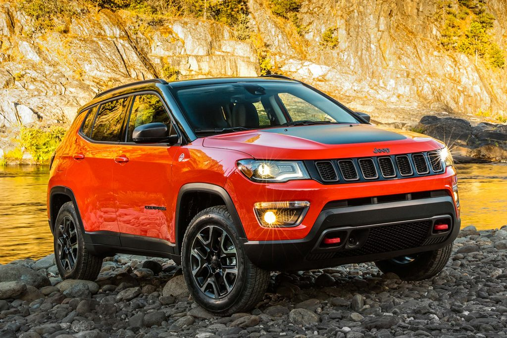 Jeep Compass (2017, second generation, Type 551, USA ...