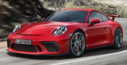2017 Porsche 911 GT3: Optional 6-speed manual; standard RWS, 4L H6