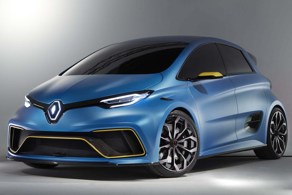 renault zoe e sport concept 2017 photos between the axles. Black Bedroom Furniture Sets. Home Design Ideas