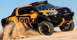 Toyota Hilux Tonka concept: Rugged offroad pickup from Australia