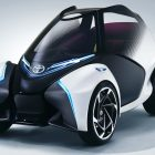 Toyota i-TRIL: Leaning 2-seat concept design for small towns