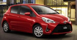 2017 Toyota Yaris vs 2014-16 XP130: Facelift changes photo comparison