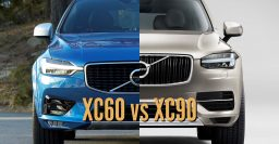2018 Volvo XC60 vs 2017 XC90: Differences in photo comparison
