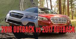2018 Subaru Outback vs 2017: See facelift changes in photo comparison