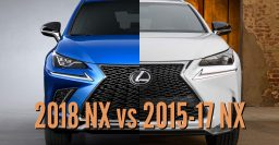 2018 Lexus NX vs 2015-17: Facelift differences in photo comparison