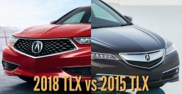 2018 Acura TLX vs 2015-2017: See differences in photo comparison