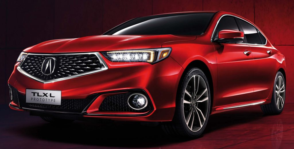 Acura TLX-L Prototype (2017, first generation, China) photos | Between the Axles