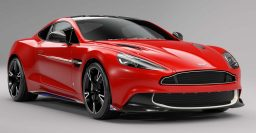 2017 Aston Martin Vanquish S Red Arrows honors RAF aerobatic unit