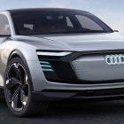 2020 Audi e-tron Sportback previewed by 3-motor EV concept