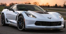 2018 Chevrolet Corvette Carbon 65 Edition wishes itself happy birthday