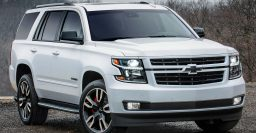 2018 Chevrolet Tahoe, Suburban RST: Optional 420hp 6.2L V8, 10-sp auto