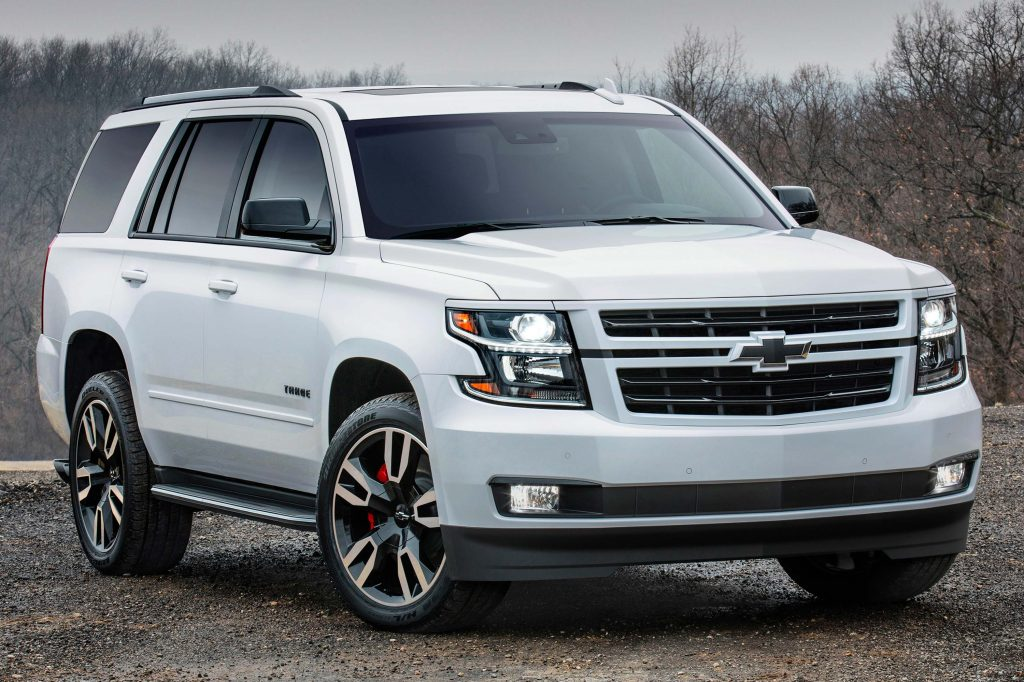 Chevrolet Tahoe RST special edition (2018, fourth ...