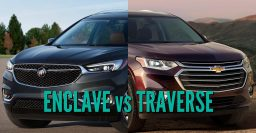 2018 Buick Enclave vs Chevrolet Traverse: What are the differences?