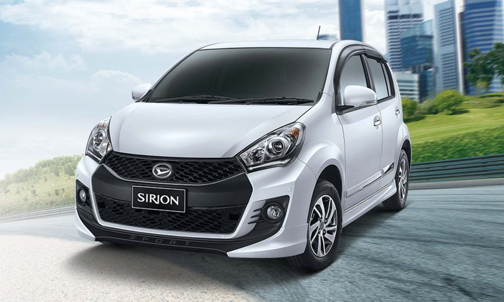 daihatsu sirion 2017 third generation indonesia photos between the axles