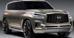 2019 Infiniti QX80: luxury Patrol/Armada previewed by Monograph concept