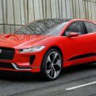 Jaguar I-Pace concept (2017, red) photos