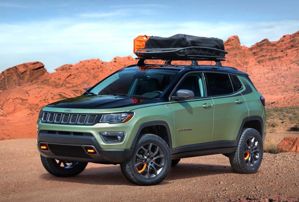 Jeep Trailpass Concept 2017 Type 551 Compass Photos