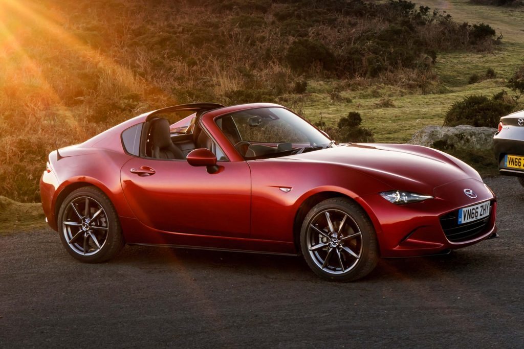 500 Down Car Lots >> Mazda MX-5 RF (2017, ND, fourth generation, UK) photos | Between the Axles