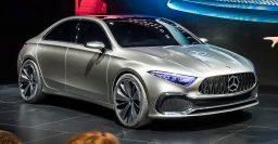 2019 Mercedes-Benz A-Class sedan previewed by Concept A Sedan