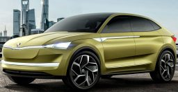 2018 Skoda Kodiaq Coupe: Chinese coupe SUV teased by Vision E EV