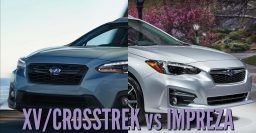 2018 Subaru XV/Crosstrek vs Impreza: Differences in photo comparison