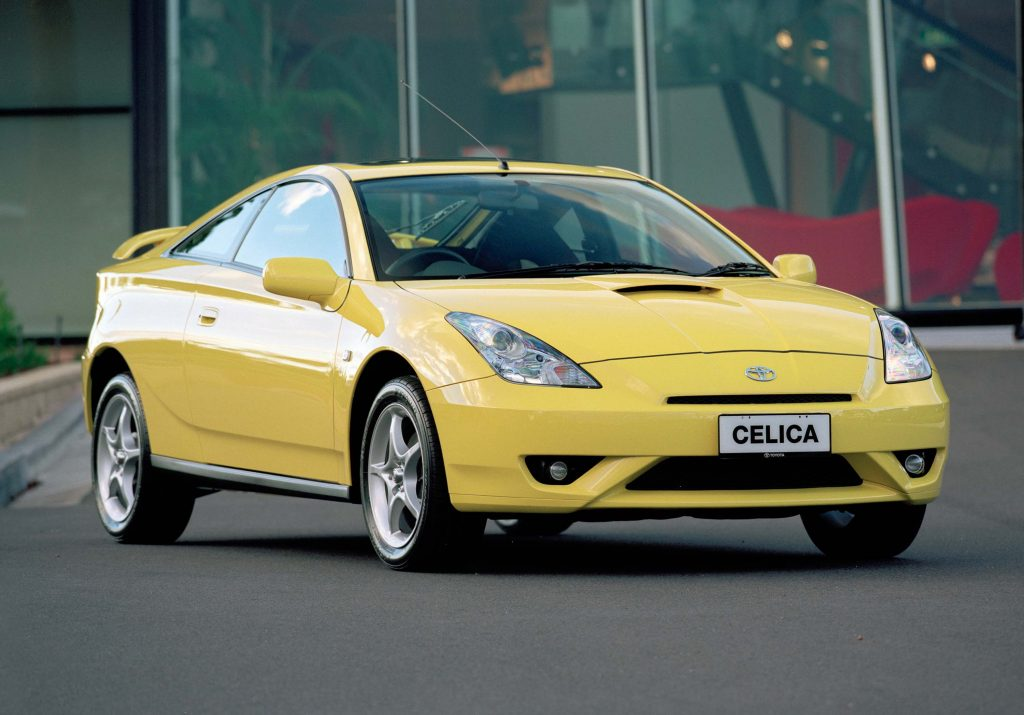 Toyota Celica 1999 2003 Seventh Generation T230