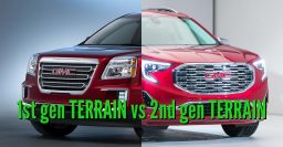 2018 GMC Terrain vs 2016-2017: 2nd vs 1st generation differences