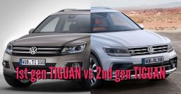 2017-2018 Volkswagen Tiguan vs 2011-2016: 2nd vs 1st generation