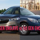 2018 Buick Enclave vs 2013-2017: 2nd vs 1st generation differences